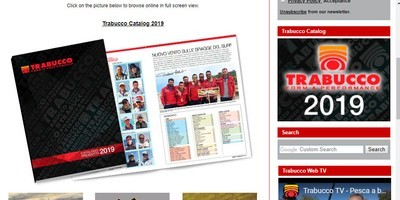 Trabucco Catalogue 2019 free of charge on request