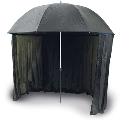 Umbrella with side cover 250 dpu 2.5m half tent