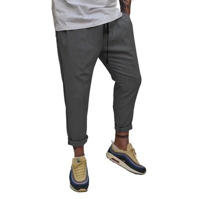 Pantalone Uomo in tessuto fresco elasticizzato perfetta vestibilità - Pantalaccio Grey
