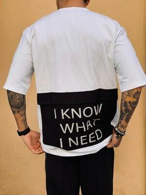 T-Shirt Uomo in cotone mezza manica con tascone sul retro - T-Shirt  Pocket