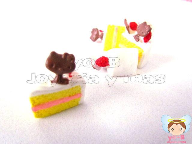 Rebanada de pastel Kitty (PIEZA TIPO RE-MENT)