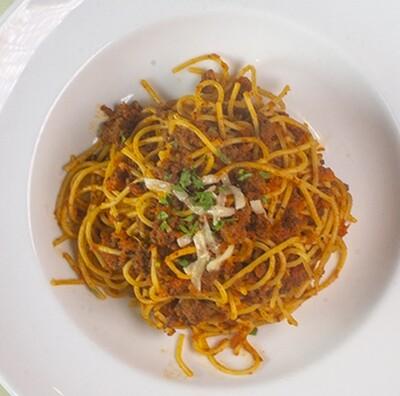 Spaghetti Bolognese Family Dinner