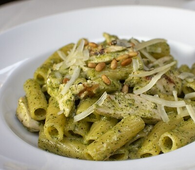 Gluten-Free Penne Pesto