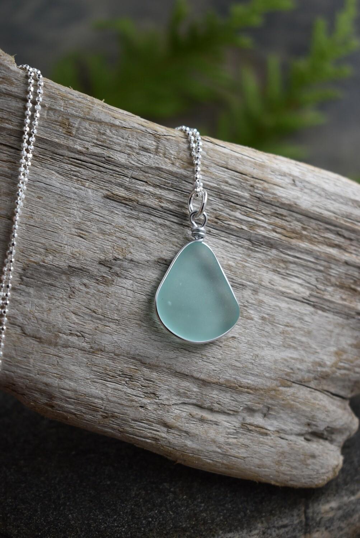 Seaglass Pendant Necklace