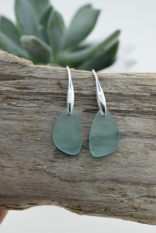 Modern Seaglass Earrings