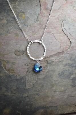 Swarovski Crystal Circular Pendant (Matching piece available)