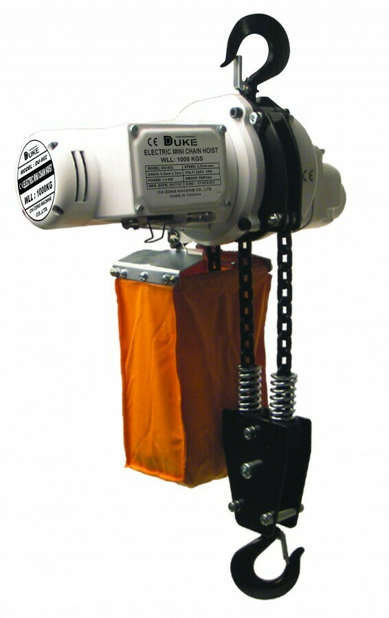 1000KG DUKE ELECTRIC HOIST 220V