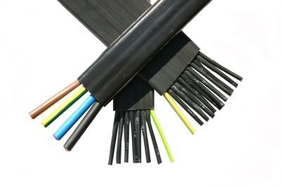 4 CORE X 10MM FLAT CABLE