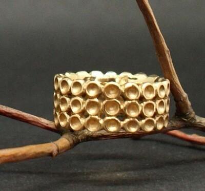 Ring aus 750/- Roségold