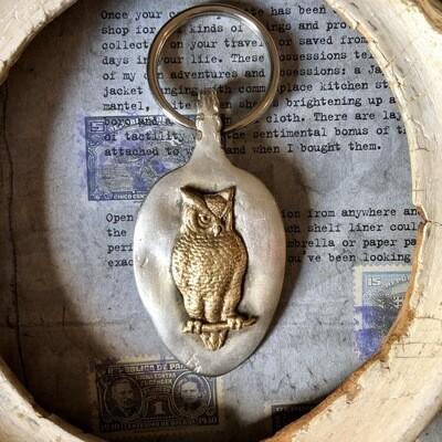 Owl Key Fob