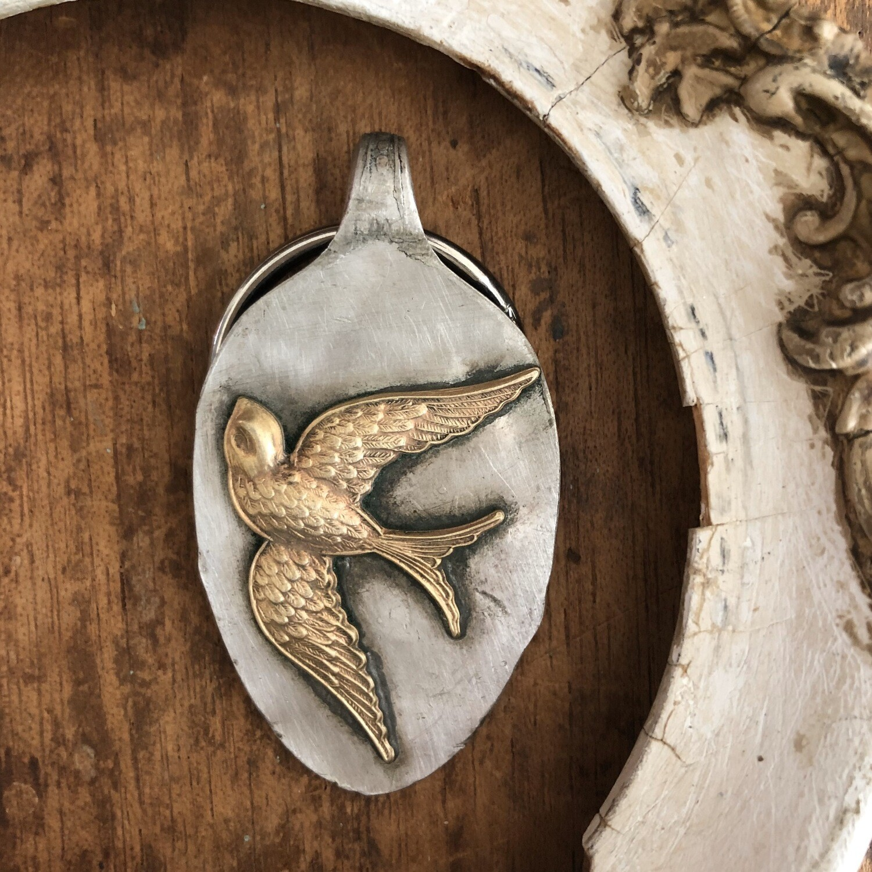 Rustic Swallow Key Keeper