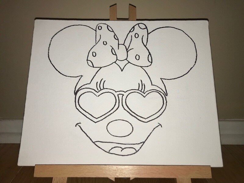 Minnie Mouse Canvas Pack