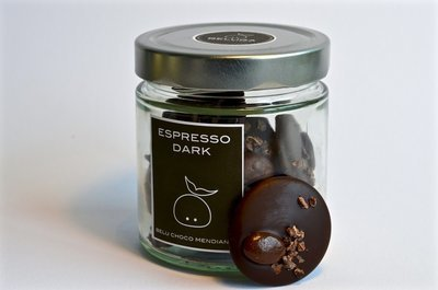 Glass Mendiants Espresso