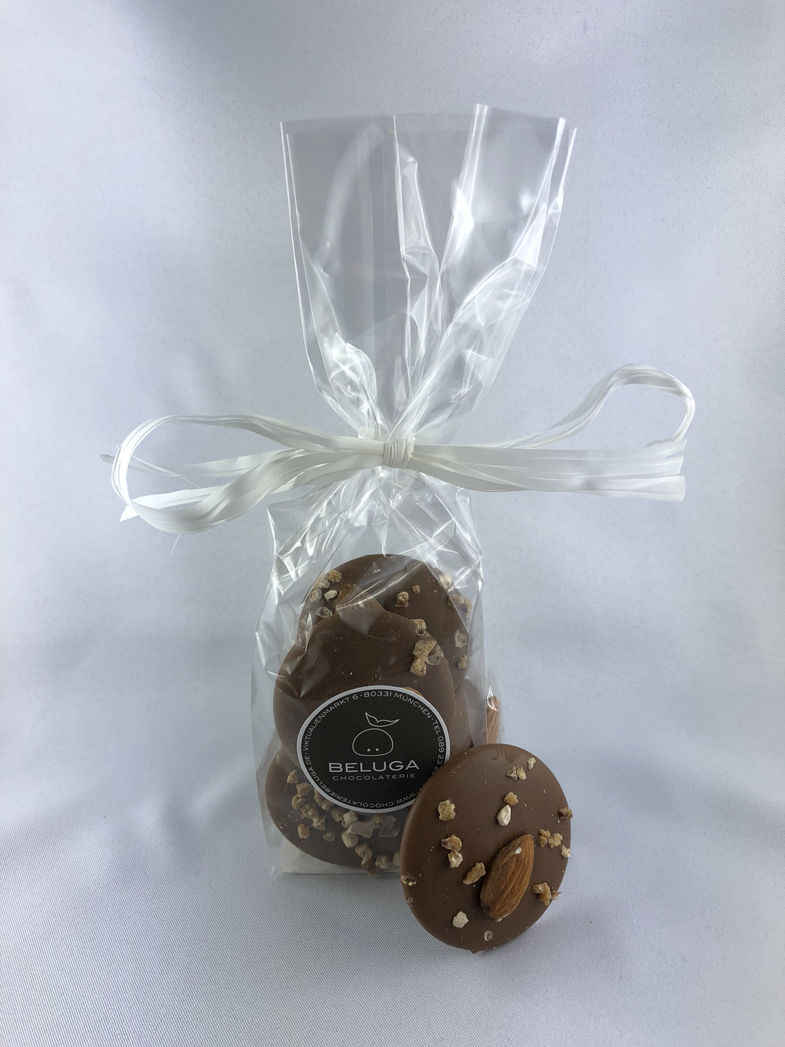 Mendiants in a bag, Nougat Almond