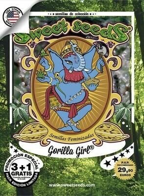 Gorilla Girl® 3 seeds +1 free