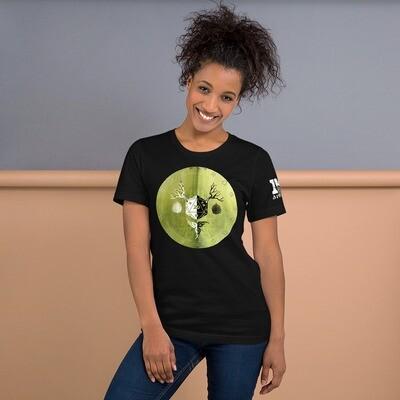 Druid Shield Color Short-Sleeve Unisex T-Shirt