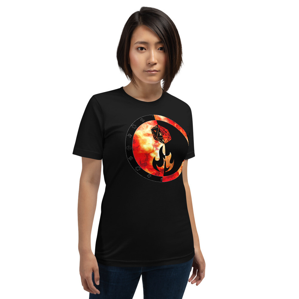 Sorcerer Shield Color Short-Sleeve Unisex T-Shirt