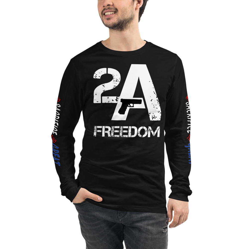 2A Freedom Unisex Long Sleeve Tee