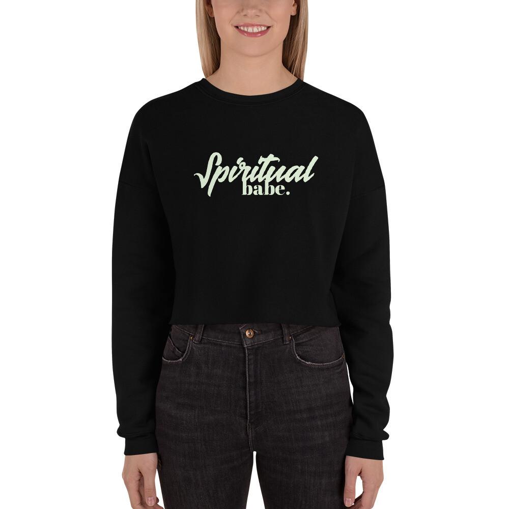 Spiritual Babe Crop Sweatshirt