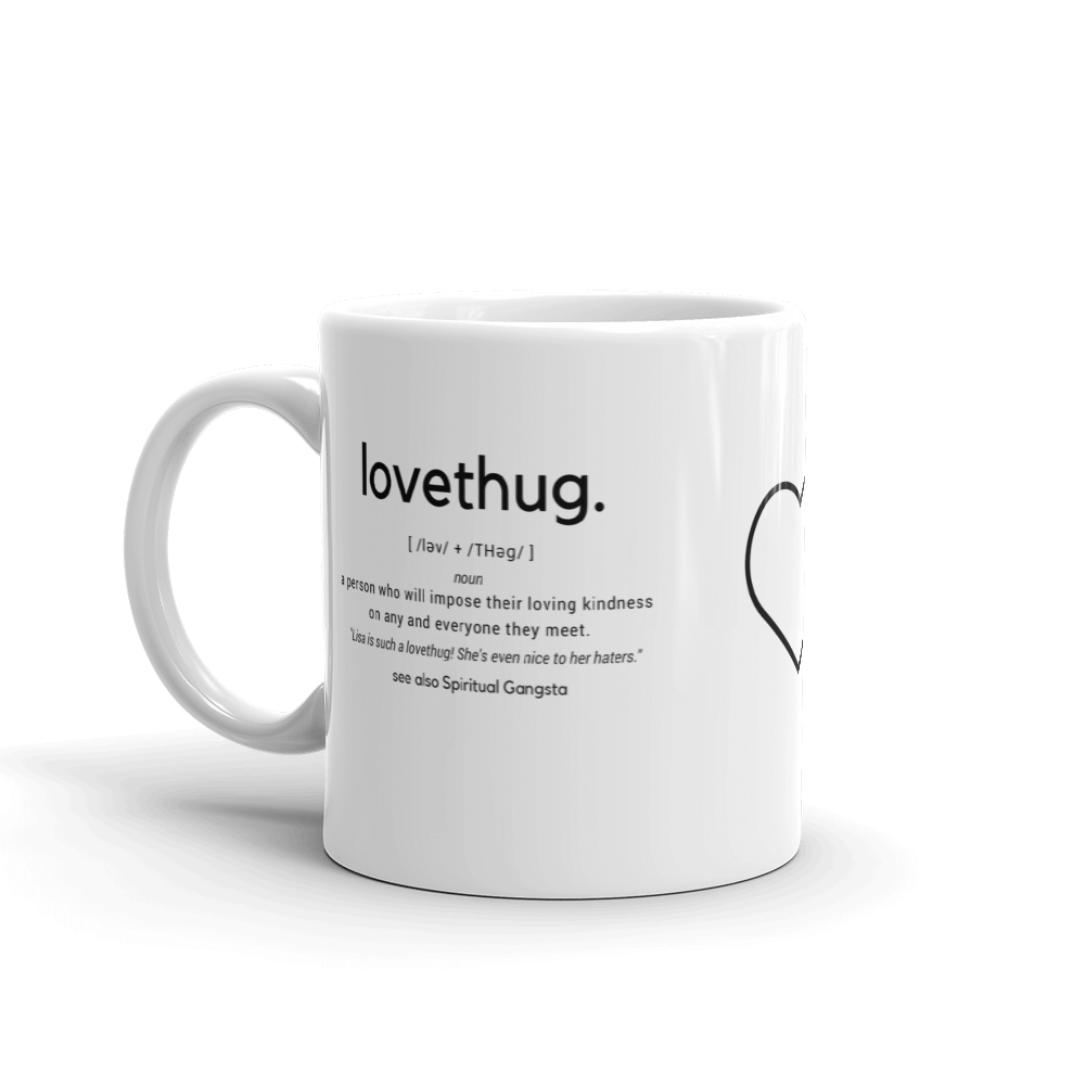 LoveThug. Definition Mug
