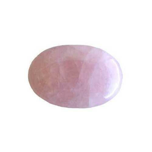 Rose Quartz palm stone