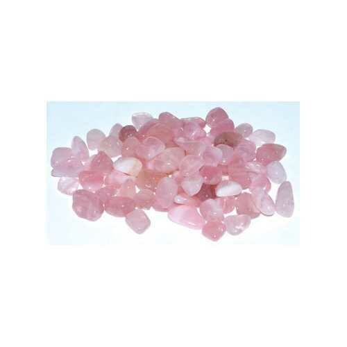 1 lb Rose Quartz tumbled chips 6-8mm