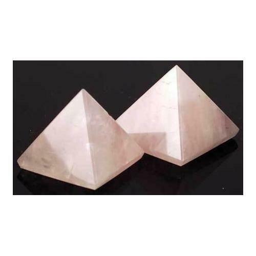 30-40mm Rose Quartz pyramid