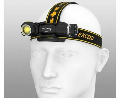 Фонарь ARMYTEK WIZARD PRO MAGNET USB NICHIA LED (Теплый свет)
