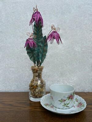 Fuschia Floral Bouquet