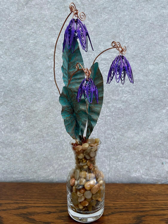 Purple Floral Bouquet