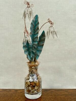 Antique White Floral Bouquet