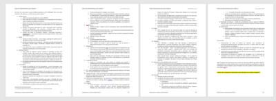 Resumo BRC072 - Impacto nas auditorias - Lista de documentos a alterar