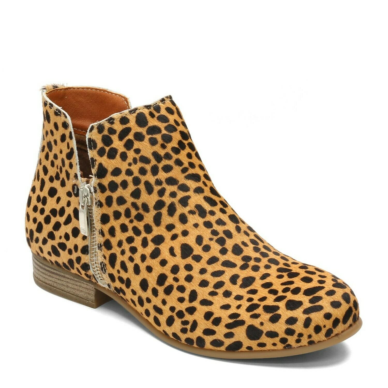 Lynx Brown Cheetah Boot