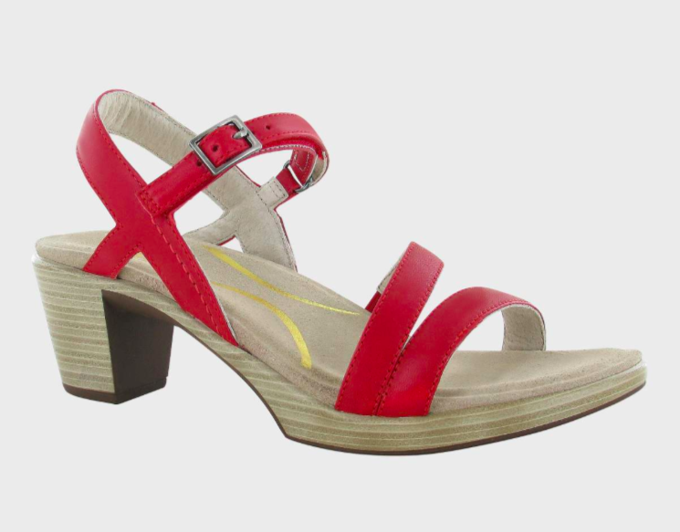 Bounty Kiss Red Leather Sandal