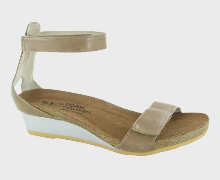 Mermaid Arizona Tan Leather Sandal