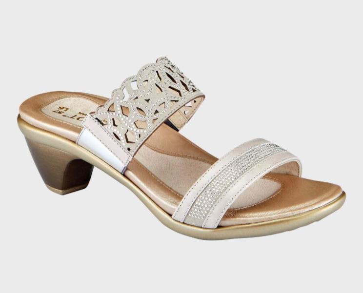 Contempo Quartz and Beige Sandal
