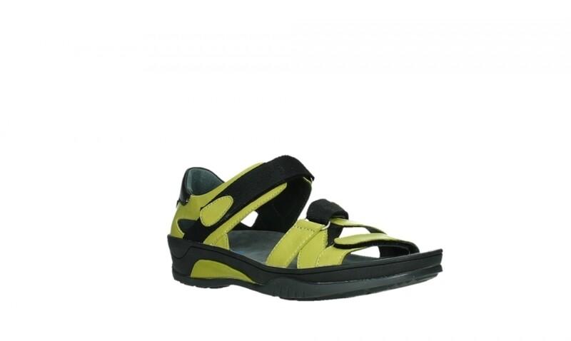 Ripple Green Sandal