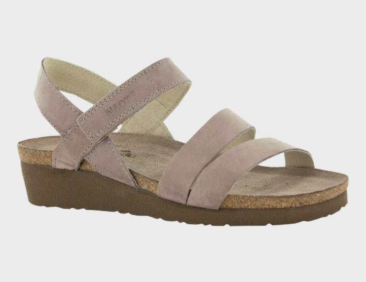 Kayla Stone Nubuck Sandal