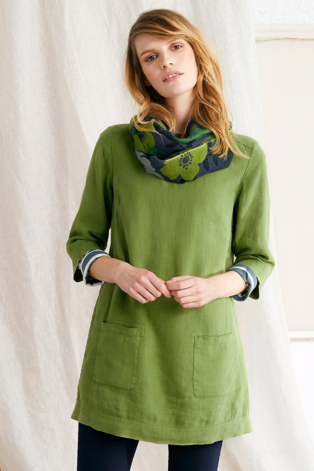 FINAL SALE Oceanfront Tunic Dill