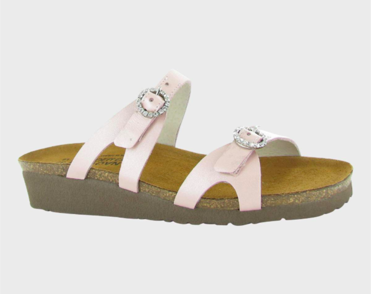 Kate Pearl Leather Sandal