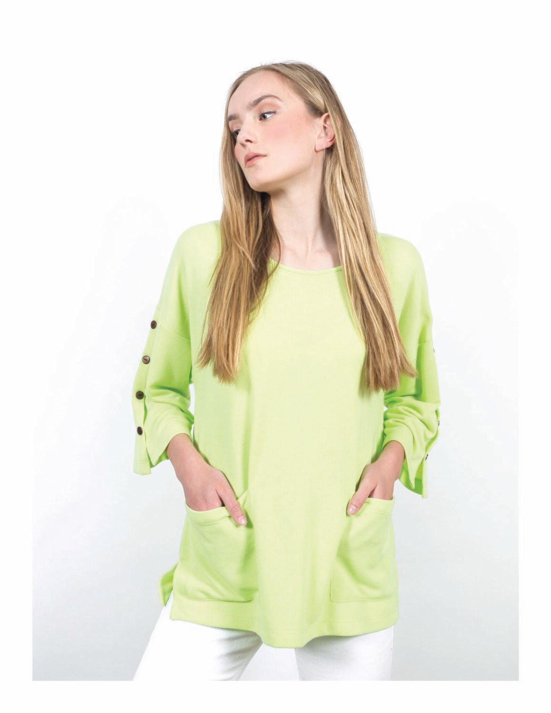 Maren Lime Top