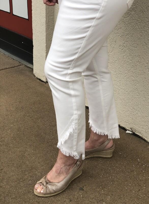 R1923 Tencel Jeans in Ivory
