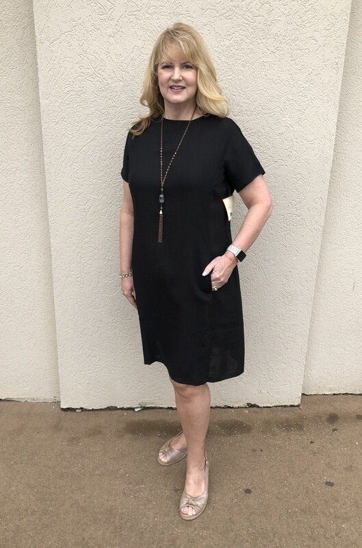AAD226 Brigadoon Dress Black
