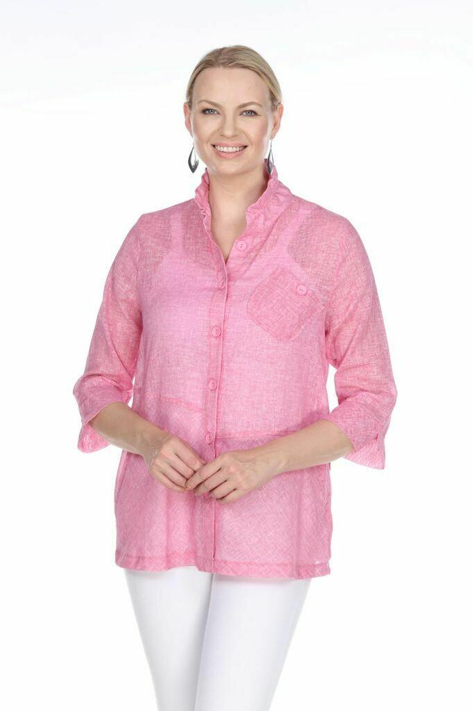 P4319 Plus Pink Jacket