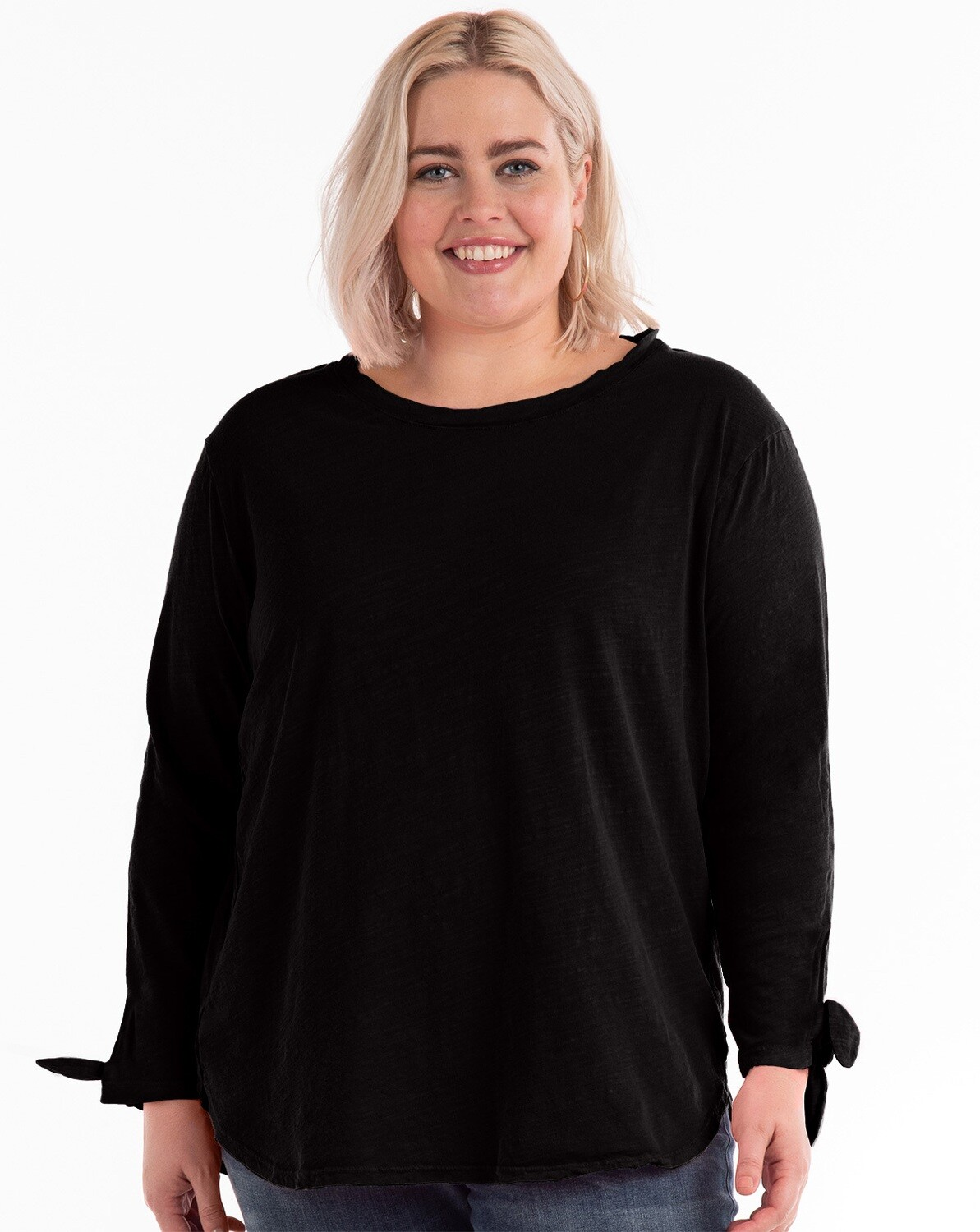 ETHTIPD Plus Catalina Tie Sleeve in Black