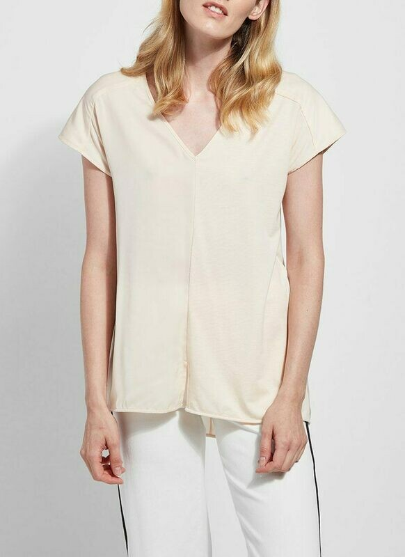 2428 Martha Sleeveless Top in Alabaster