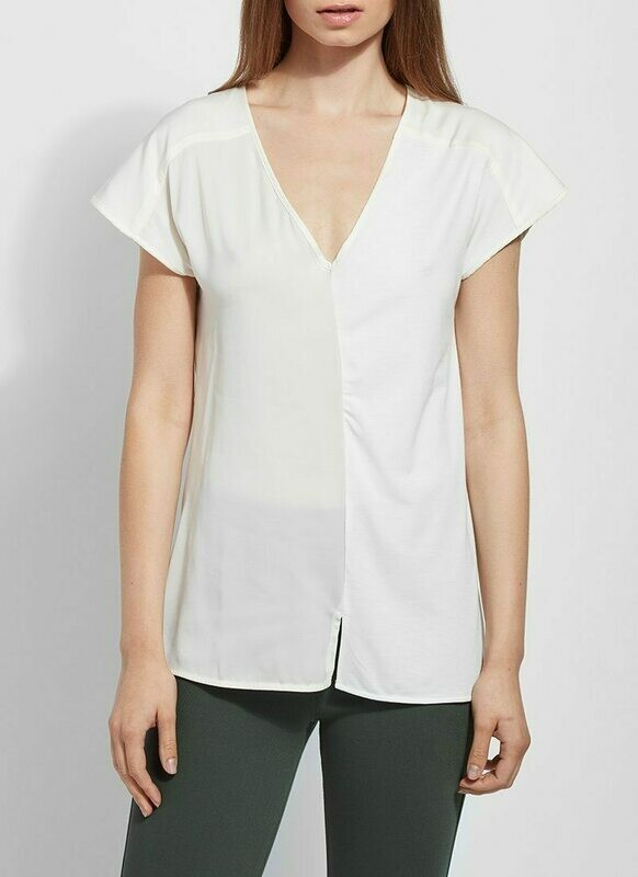 2428 Martha Sleeveless Top in Off White