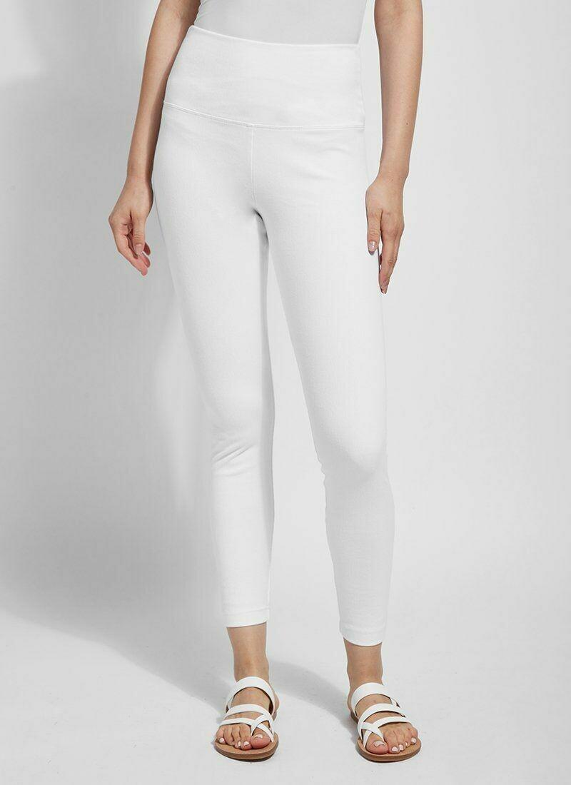 106175 Denim Legging White