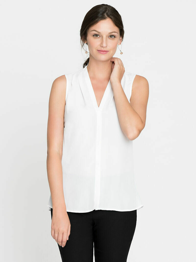 ALL1673 Easy Day to Night Top White