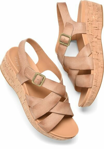 Caroleigh Natural Wedge Sandal